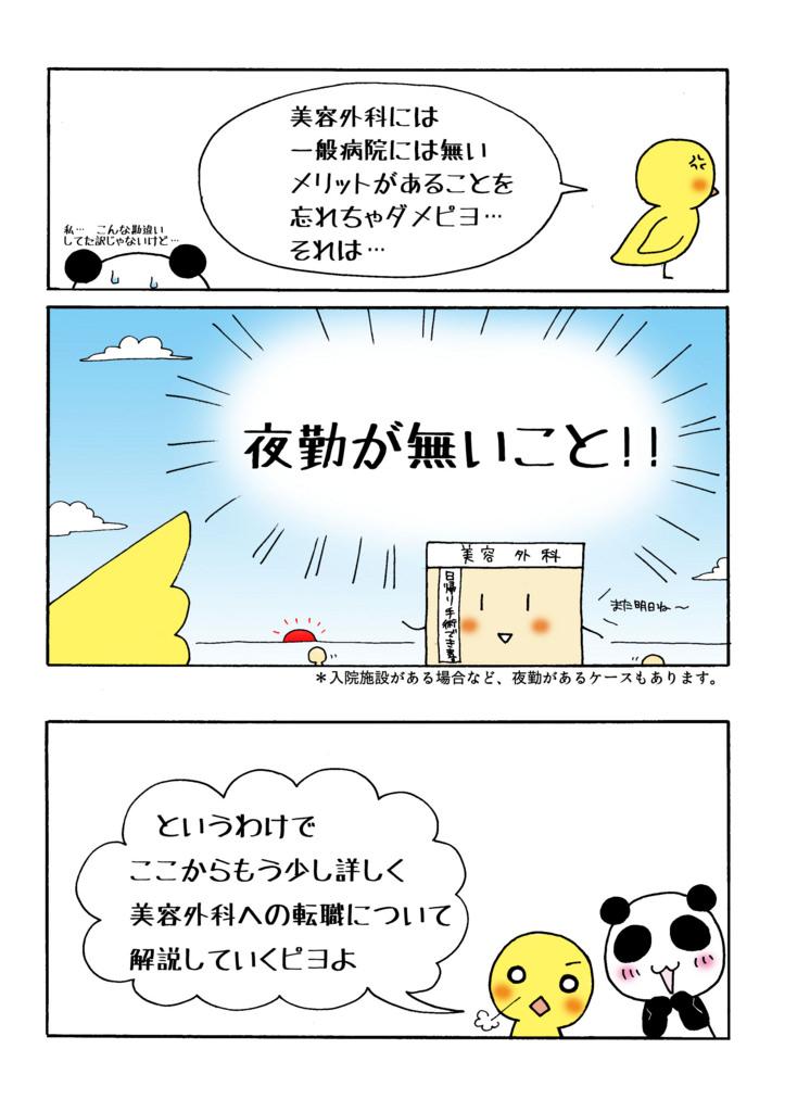 「美容外科とんでもない勘違いを解決する!編」マンガ6ページ目