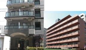 東大阪病院の看護師寮外観写真