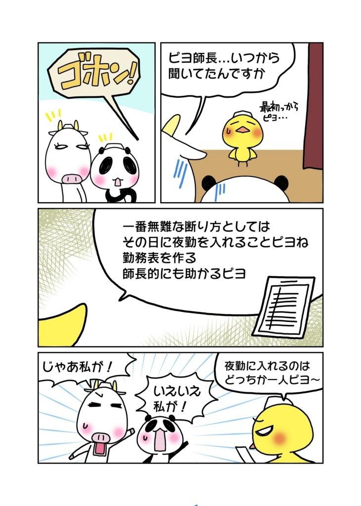 『忘年会や飲み会への参加は絶対拒否!!』マンガ1ページ